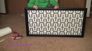 diy no sew head board glue glider max