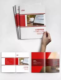 Pamphlet Design Templates Psd Free Download Red Creative Company Brochure Design Psd Template Album