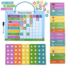 How To Make A Reward Chart For Behaviour Magnetic Reward Chart For Kids To Use At Home Laughing