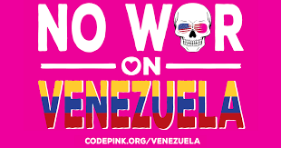 Image result for no war on venezuela