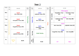 Hemlington Hall Academy Weekly Timetable September