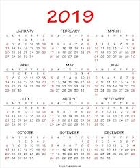 printable 6 month calendar 2019 yearly calendar 2019 template printable one page print out