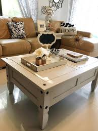 Chalk Painted Coffee Table Chalk Paint Table Ideas Blue Painted
