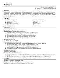 Accounts Payable And Receivable Resume Oliviajane Co