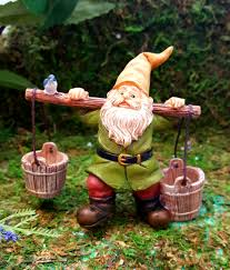 gnome with bucket