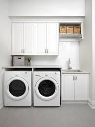 single wall laundry room design ideas
