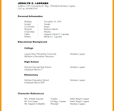 Reference List Resume Proper Reference List Resume For Templates Formatting References On
