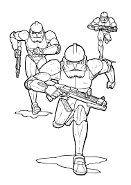 Star Wars Coloring Pages Stormtroopers With Storm Trooper Page
