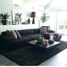 black leather couch living room best black sofa ideas on black