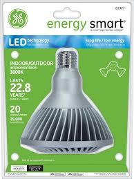 Energy Smart Flood Lights Ge Lighting 61927 Energy Smart Led 20watt 75watt Replacement