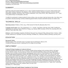 Technical Writer Resume Objective Managment Resume Sample Kyle intended for Technical  Resume Writing Services