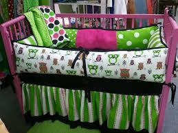 owl baby crib set turquoise lime owl baby crib bedding soho owl tree crib bedding complete