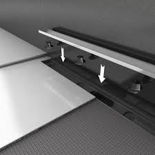 wedi system components linear drain covers