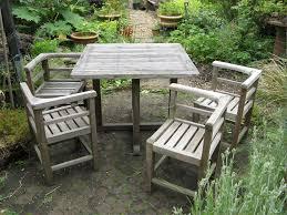 teak garden sets