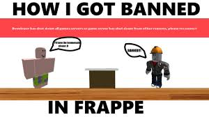 Youtube In Banned I Mad Got Frappe i How -