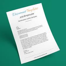 12+ Job Termination Letter Samples & Formats