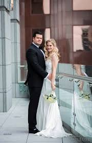 Alana & Andrew Oliver's sleek, downtown Toronto Wedding ~ WedLuxe ...