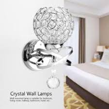 wall lighting for bedroom.  For Modern Crystal Wall Lamp Bedside Night Light Bedroom Living Room Hall  Lighting In For