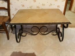 Tables en fer occasion , annonces achat et vente de tables en fer ...