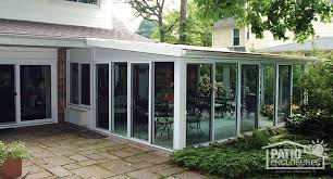 sun room additions. White Aluminum Frame All Season Room With Single-Slope Roof Sun Additions N