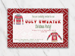 Printable Holiday Party Invitations Free Printable Christmas Invitation Templates In Word