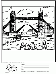 Small Picture Coloring Pages Tower Of London Coloring Page Kids Activities