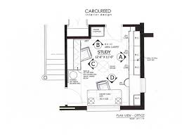 home office plan. Home Office Plan C