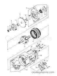 Alternator mando ac155603 1991 mercury inboard engine 5 7l