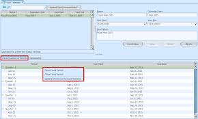 Fiscal Calendar - Samooha User Supportsamooha User Support