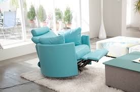 Swivel Living Room Chairs Contemporary Furniture Cool Swivel Recliner For Better Homes Furniture
