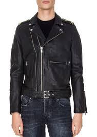 army biker jacket