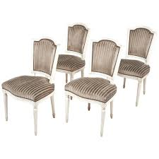 dining chairs with nailhead trim. dining chairs: nailhead trim chair antique louis xvi style set of four chairs with