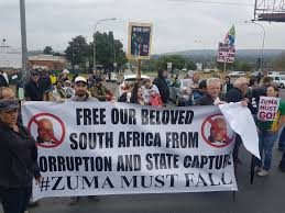 Image result for images of protest in south africa on 8 august 2017