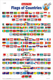 Asia Charts Review Buy Educational Charts Flags Book Online At Low Prices In
