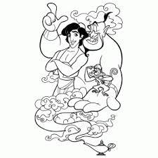 Aladdin En Jasmine Kleurplaten Leuk Voor Kids