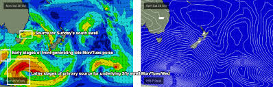 Episodic Southerly Swells To Dominate Next Week Swellnet