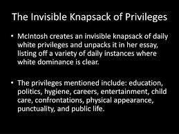 privilege essay white privilege essay