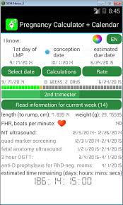 Pregnancy By Weeks Calendar Free Pregnancy Calculator And Calendar Apk Download For Android Getjar