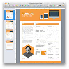 Fashionable Resume Template For Pages 3 The Best Cv Iwork Templates