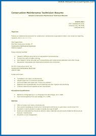 Building Maintenance Worker Resume Sample Building Maintenance Resume Maintenance Worker Resume Images 23