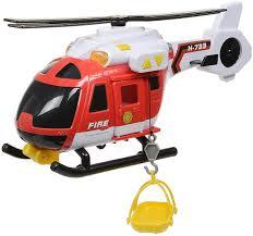 <b>HTI Пожарный вертолет Roadsterz</b> 1416392, код 5050841639216