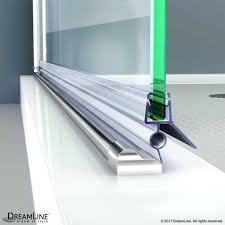 enchanting shower door sweep clear bottom sweep vinyl cut length for thick glass shower door glass