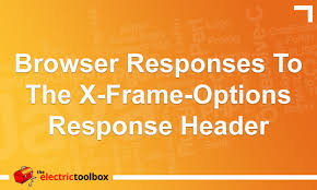 x frame options response header
