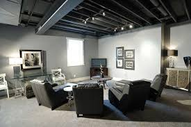 Lighting for basement Industrial Style Image Of Track Lighting Basement Mystic Ireland Track Lighting Basement Design Ideas Mysticirelandusa Basement Ideas