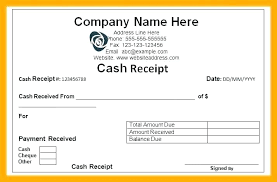 Template Of A Receipt Of Payment Skincense Co
