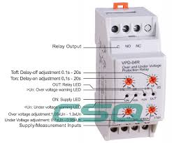 vpd 04r over voltage under voltage phase failure phase vpd 04r over voltage under voltage phase failure phase sequence protect relay