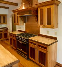 Stain Cabinets Distressed Natural Wooden S Design Ideas Country