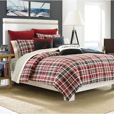 Plaid Bedroom Bedroom Cool Beds Design With Plaid Comforter And Area Rugs For