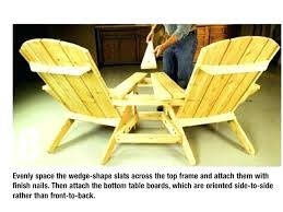 double adirondack chair plans. Double Adirondack Chair Plans For Chairs  Free I