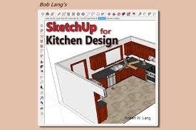 Sketchup Kitchen Design Stunning Build Kitchen Cabinets With Bob Lang's New SketchUp Book Jeff